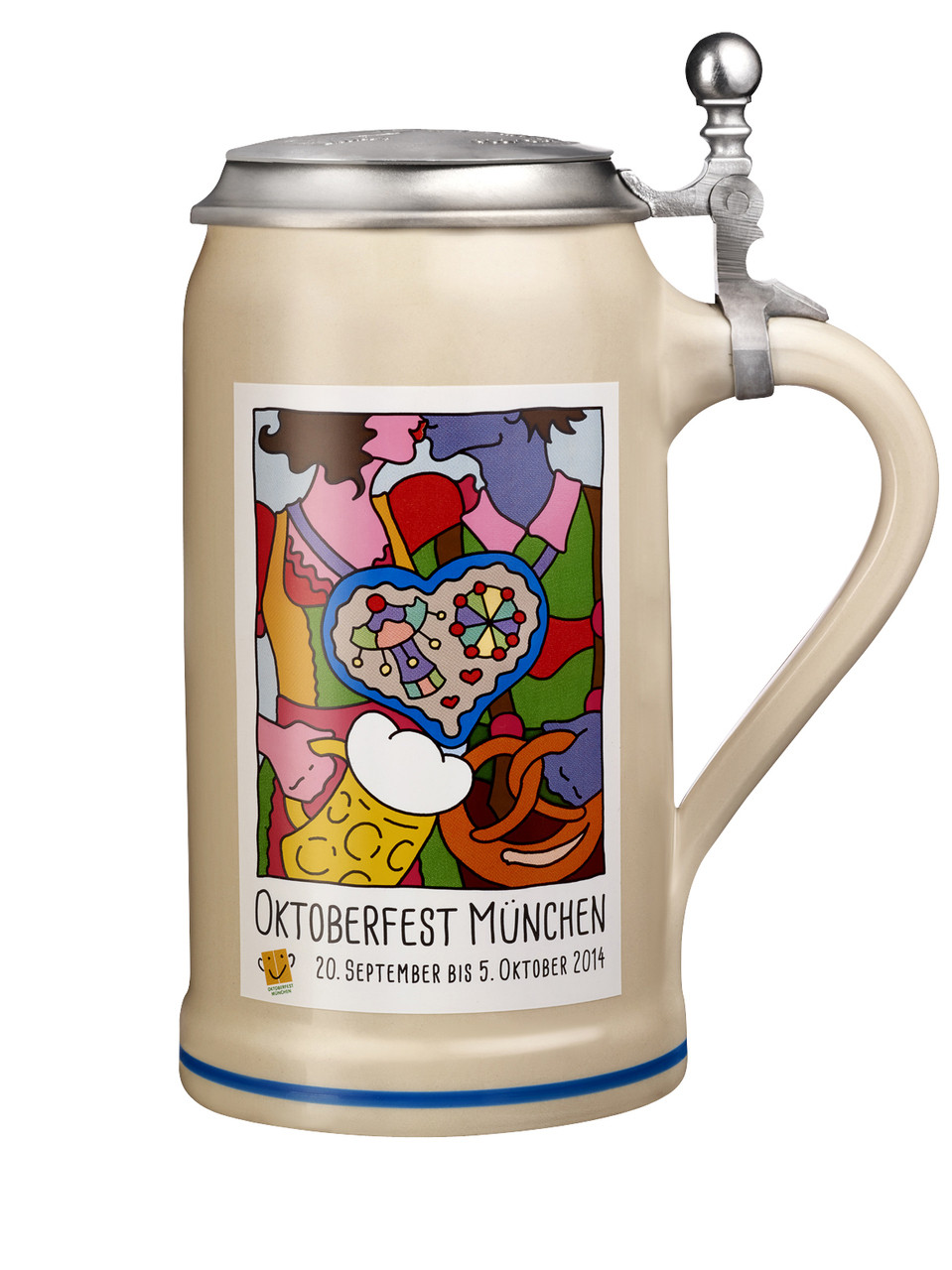 Munich 2014 Official Oktoberfest Beer Stein