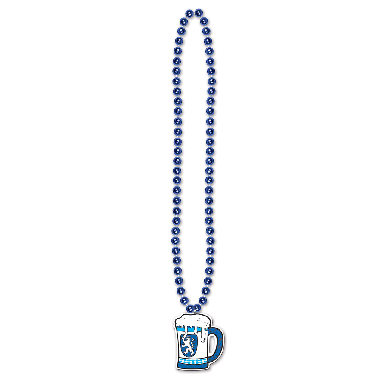Beer Stein Party Bead Necklace