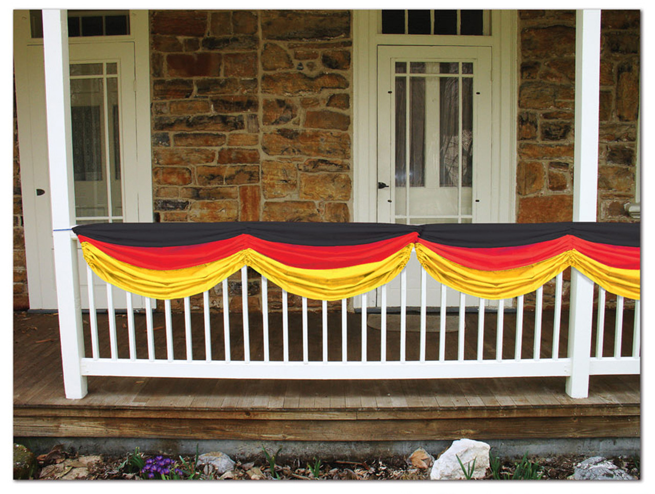 German Flag Fabric Bunting