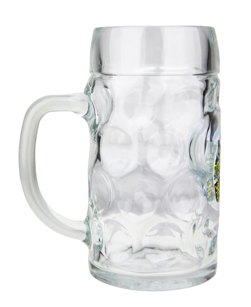 Side View of Traditional Heidelberg Oktoberfest Beer Mug