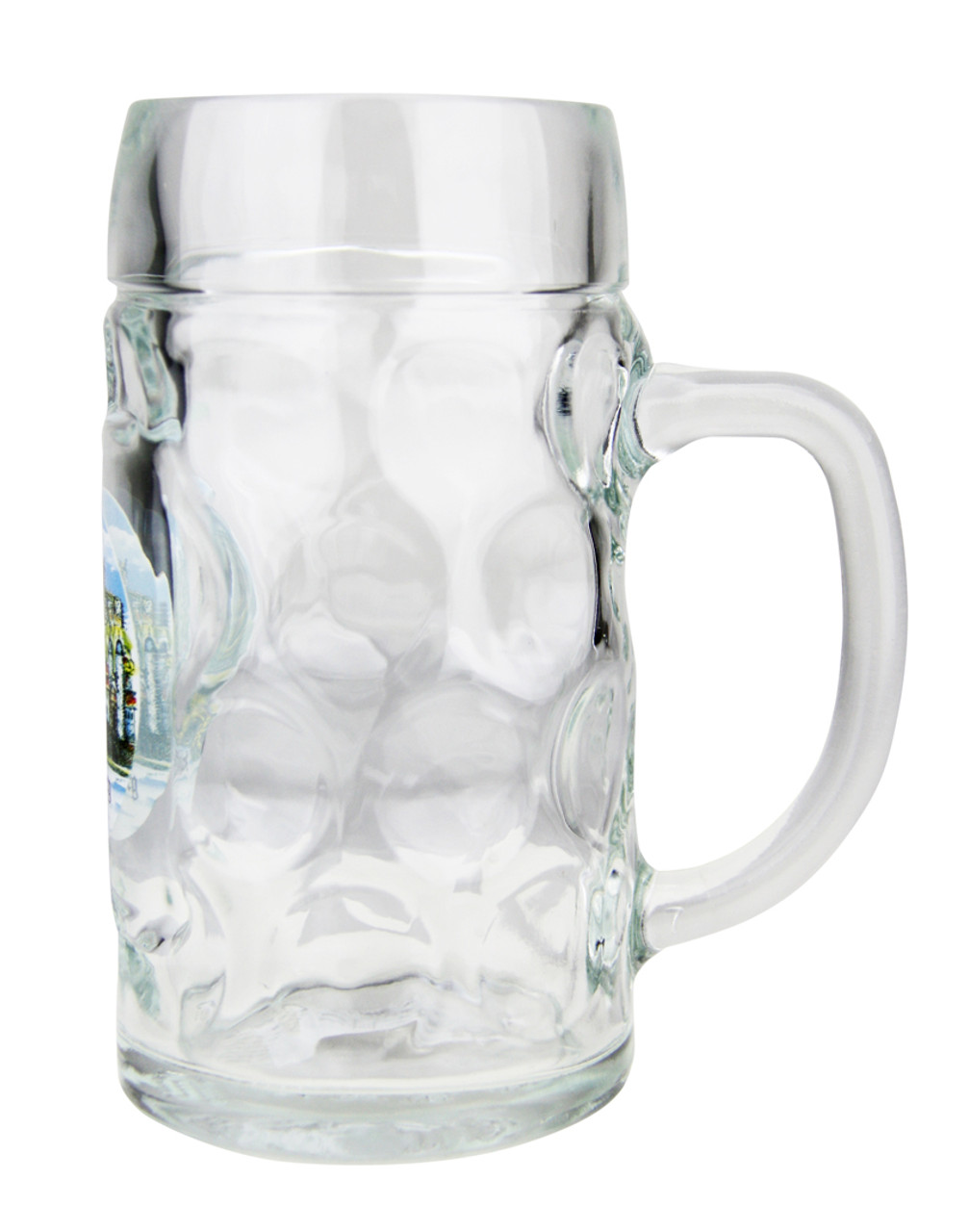 Side View of Authentic Heidelberg Oktoberfest Beer Mug