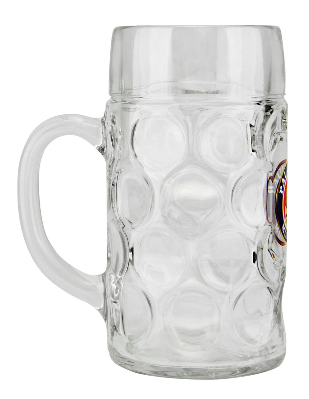 1 Liter Custom Engraved Paulaner Beer Mug