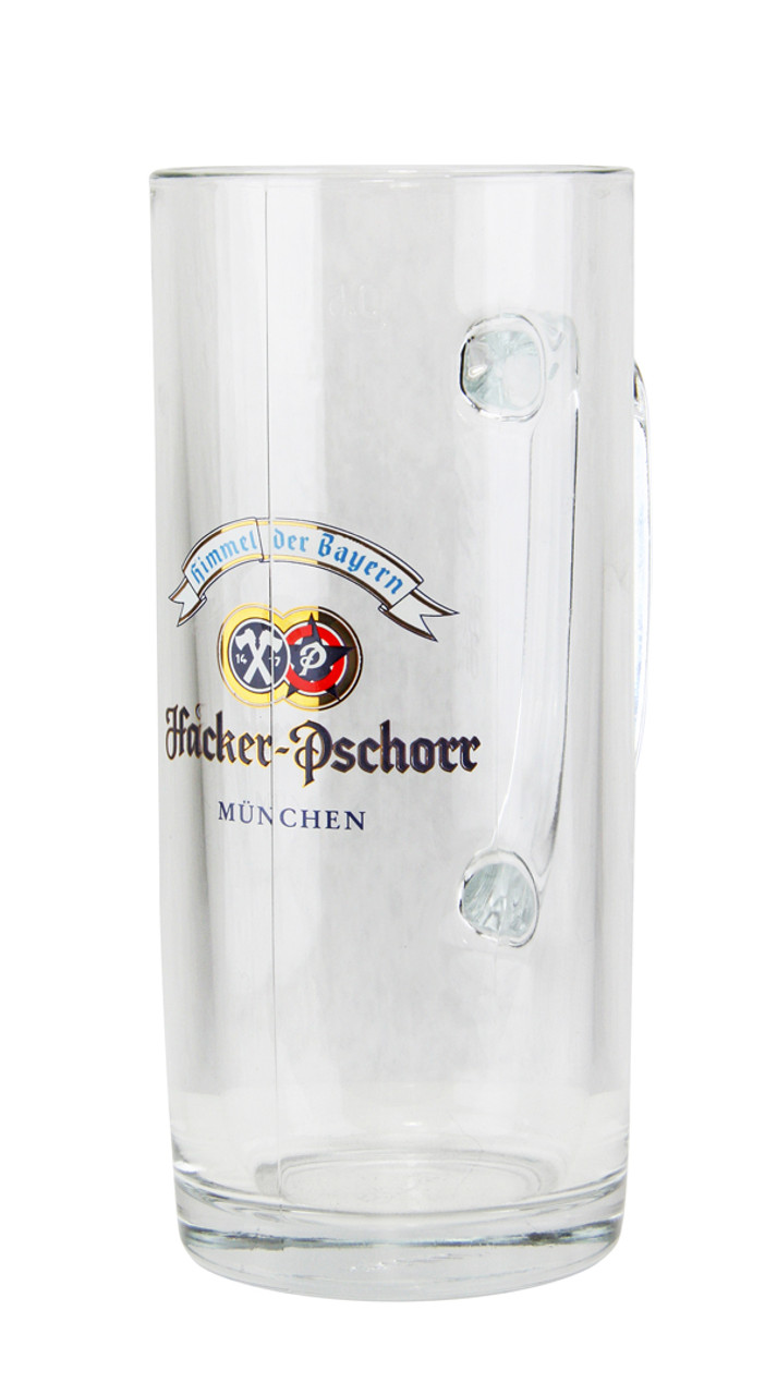 Personalized .5 Liter Hacker Pschorr Beer Glass