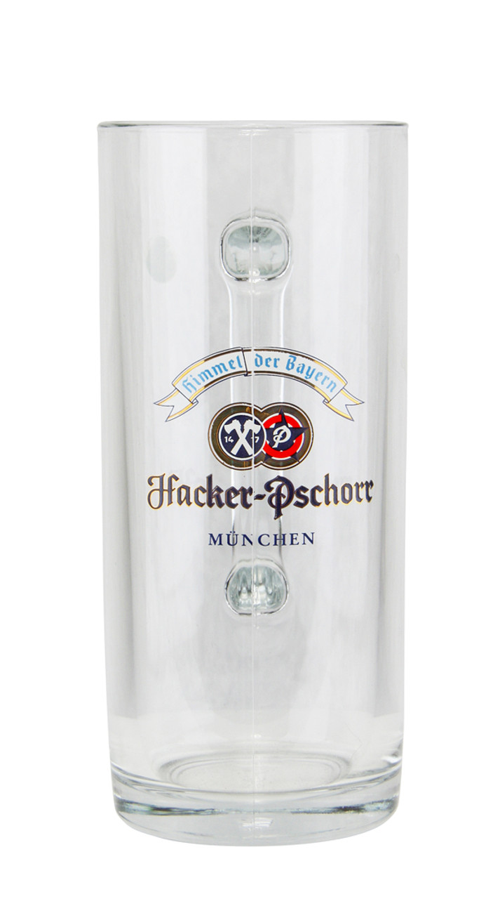 .5 Liter Beer Mug with Authentic Hacker Pshorr Logo