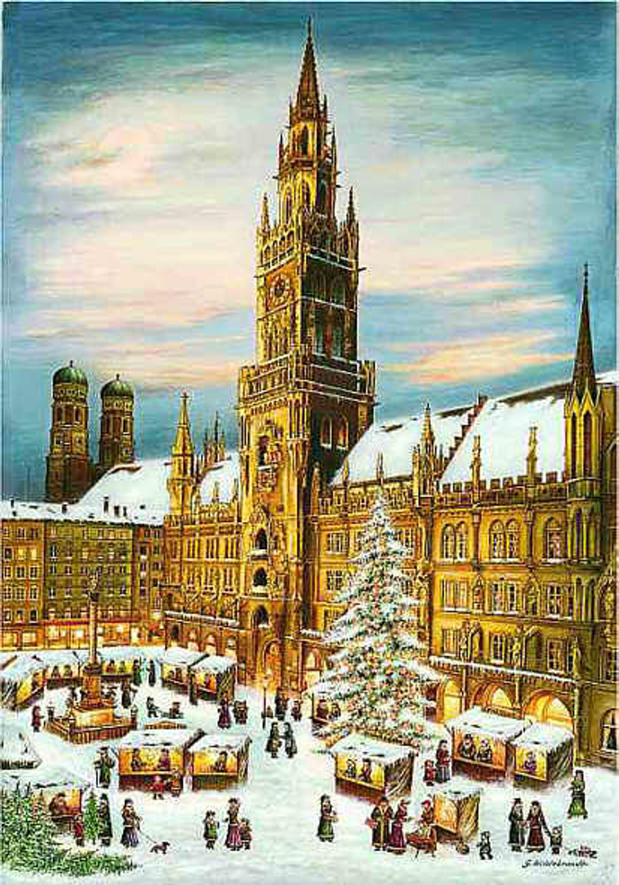 Christmas in Munich Large German Advent Calendar