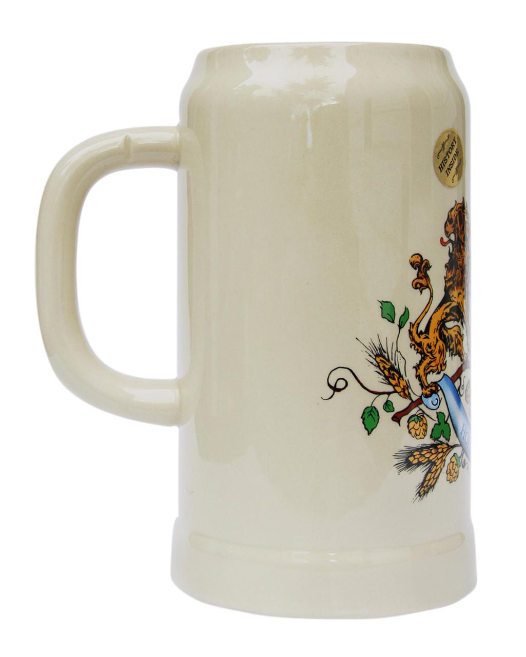 Hofbrauhaus 1 Liter Stoneware Beer Mug