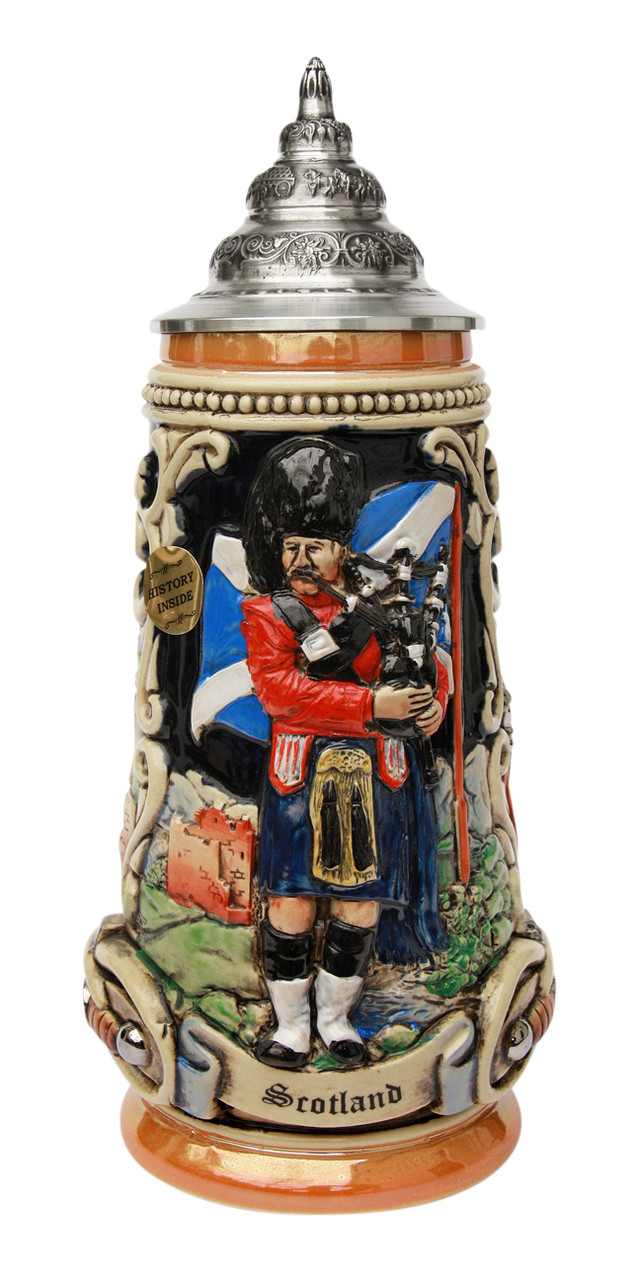 Scotland Beer Stein