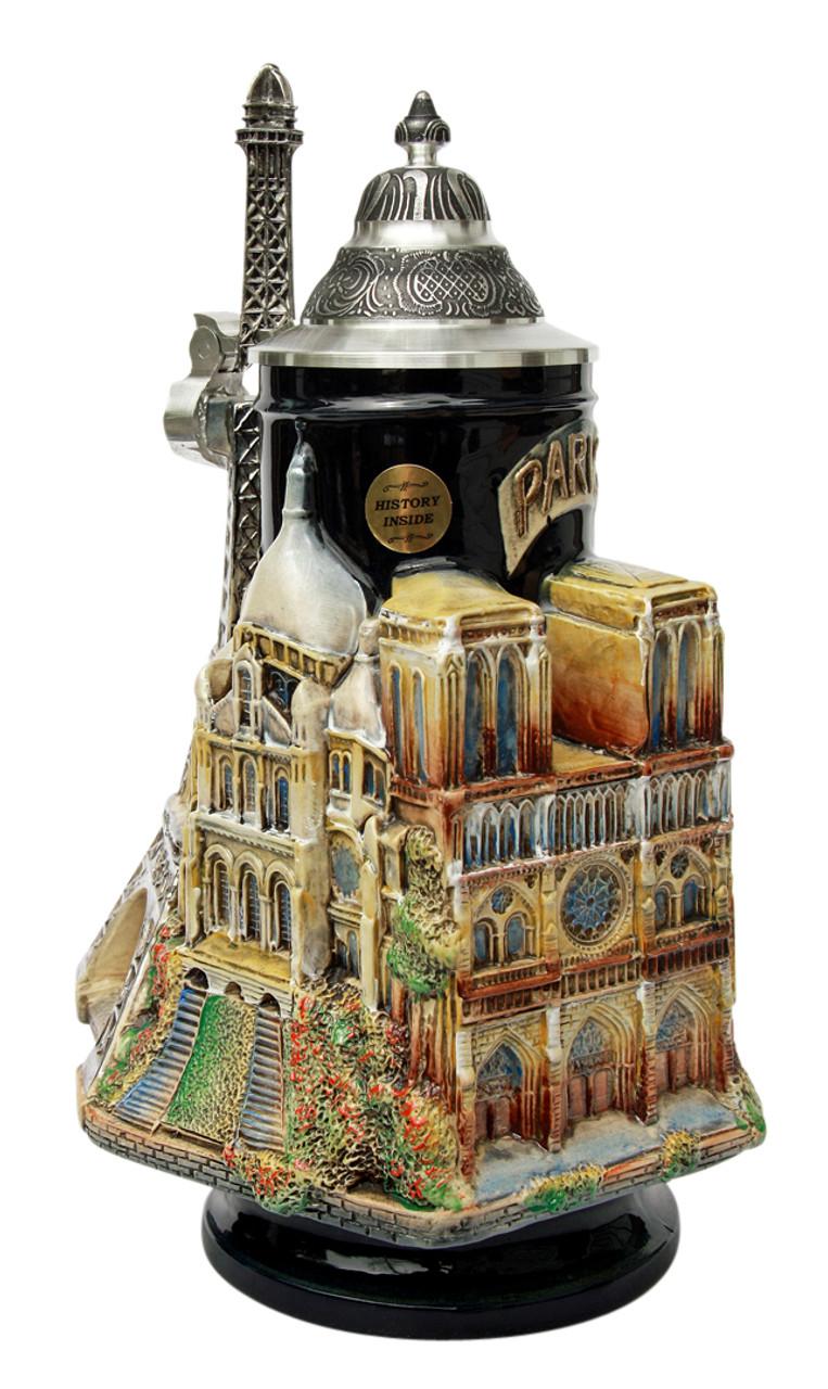 Paris France 3D Beer Stein