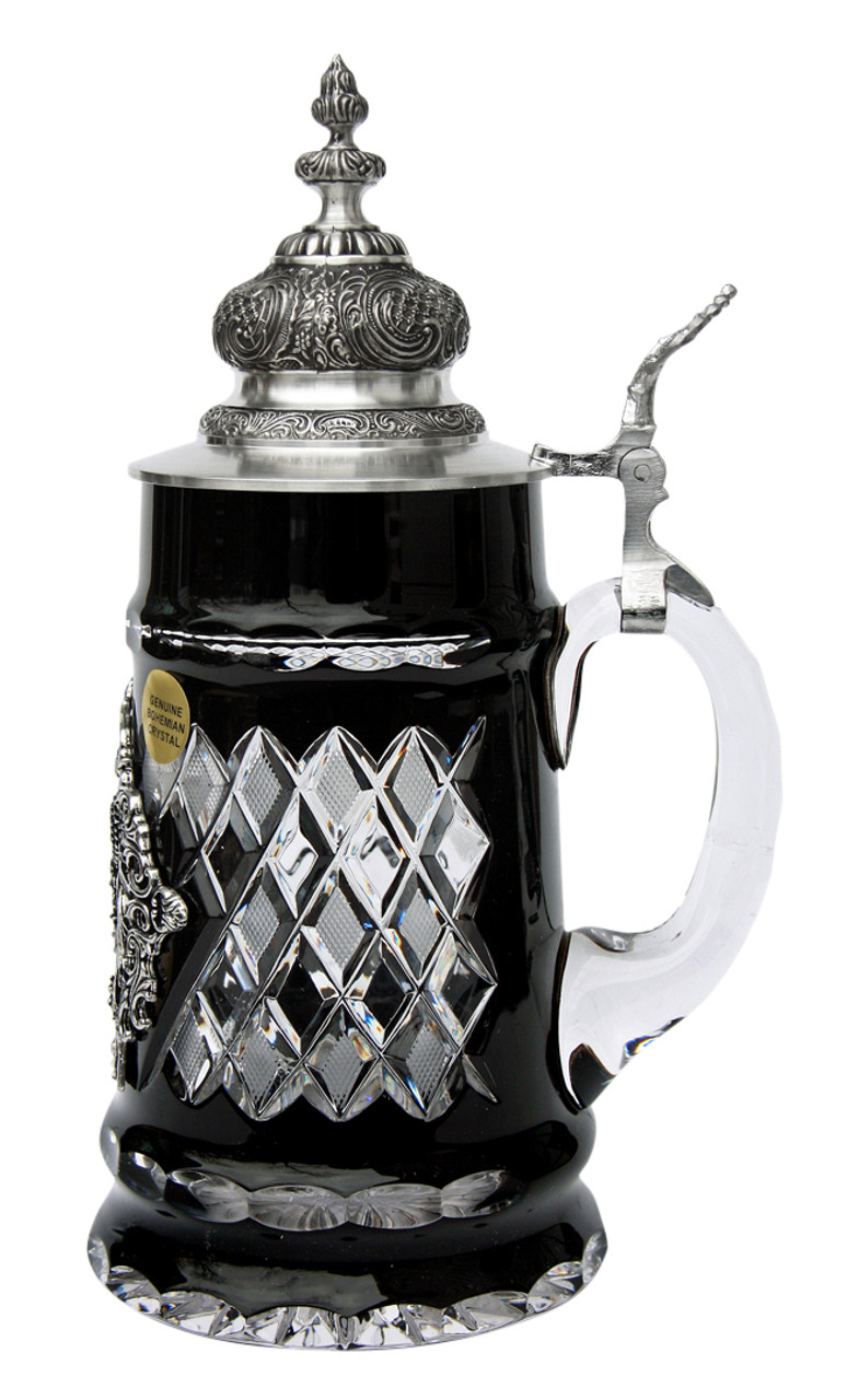 Lord of Crystal Deutschland Beer Stein Black