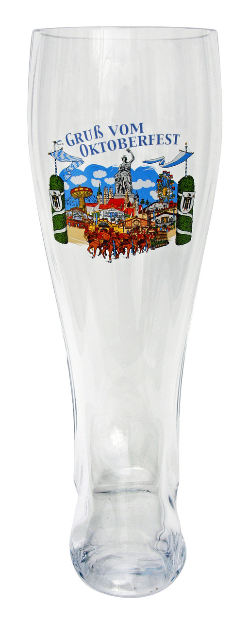 Made in Germany glass beer boot