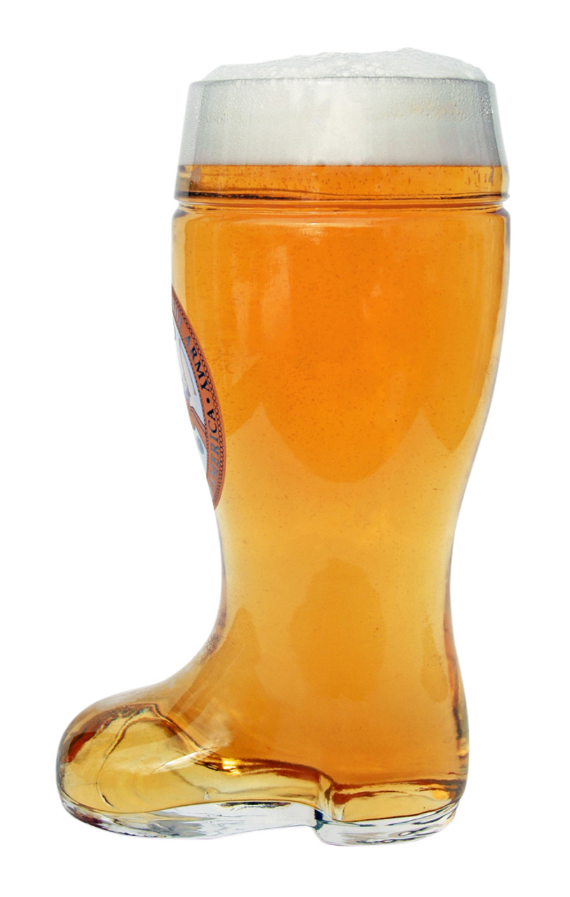 Side of Personalized 1 Liter US Army Beer Boot