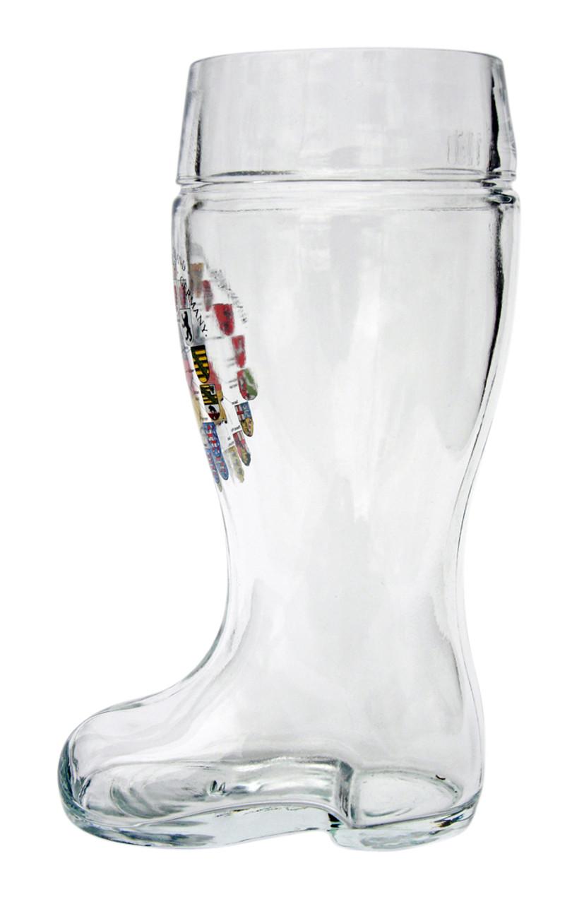 Deutschland Map Glass Beer Boot 1 Liter