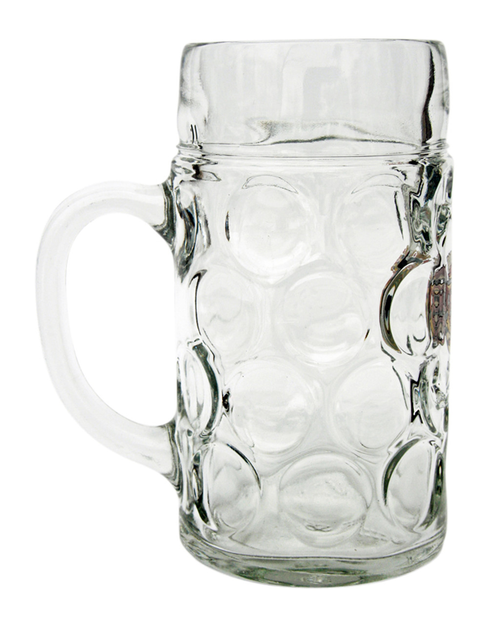 Side View of Personalized 1 Liter Mass Krug