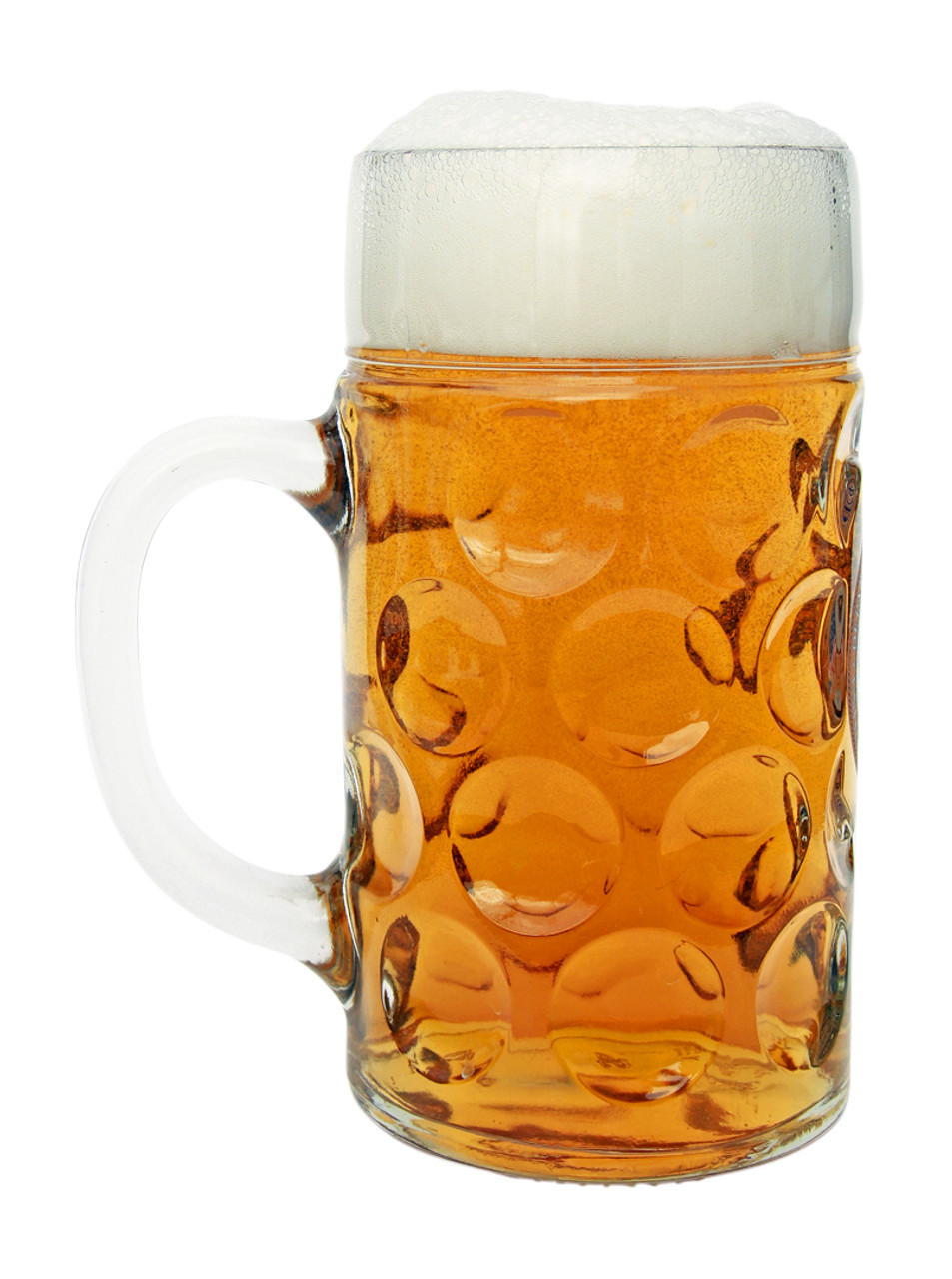 Side View of Full Oktoberfest US Army Beer Mug