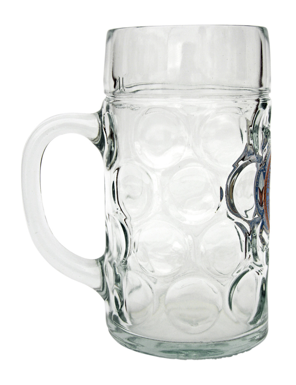 Side of 1 Liter US Navy Beer Mug