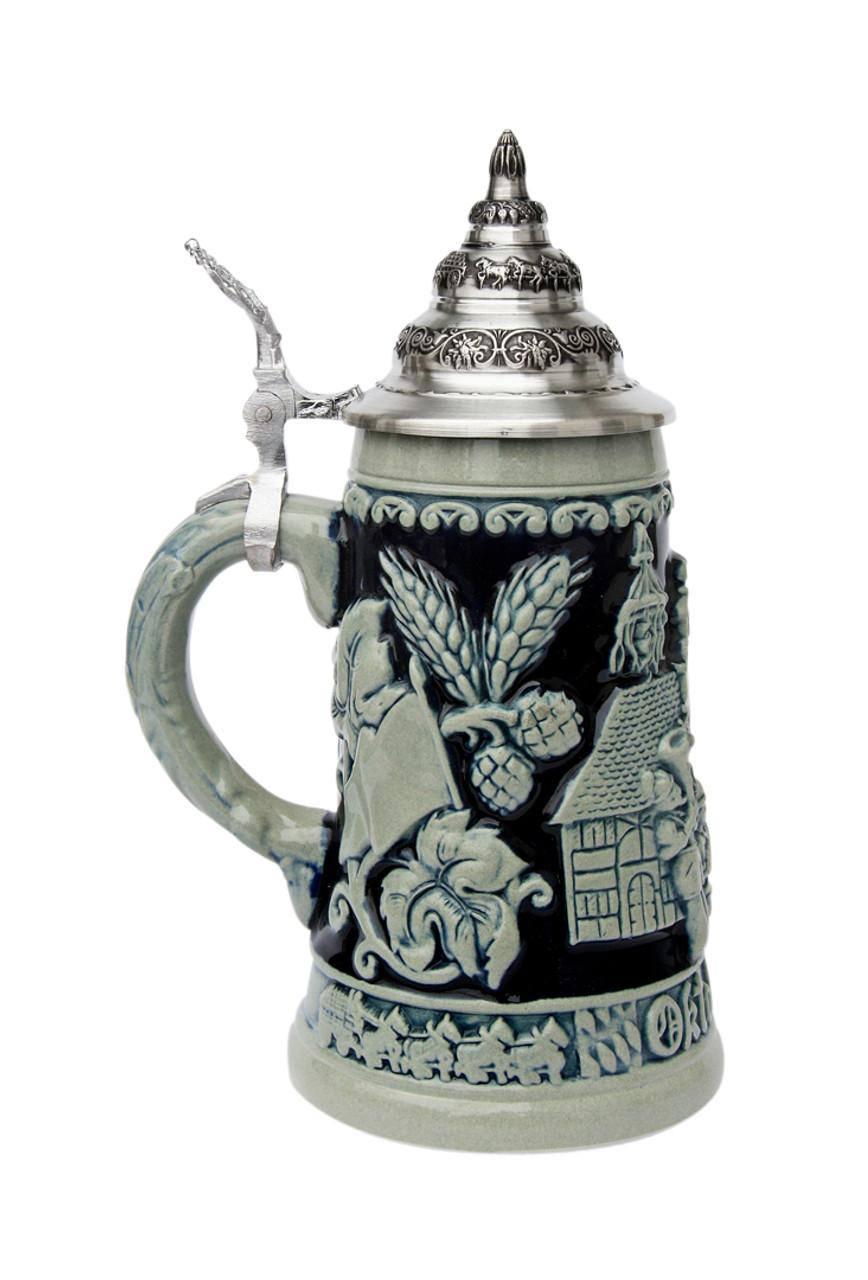 King Werk Munich Oktoberfest Ceramic Beer Stein