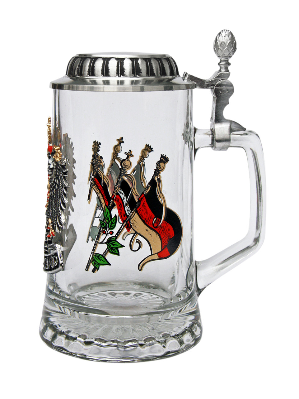 Personalized Beer Stein with Deutschland Eagle