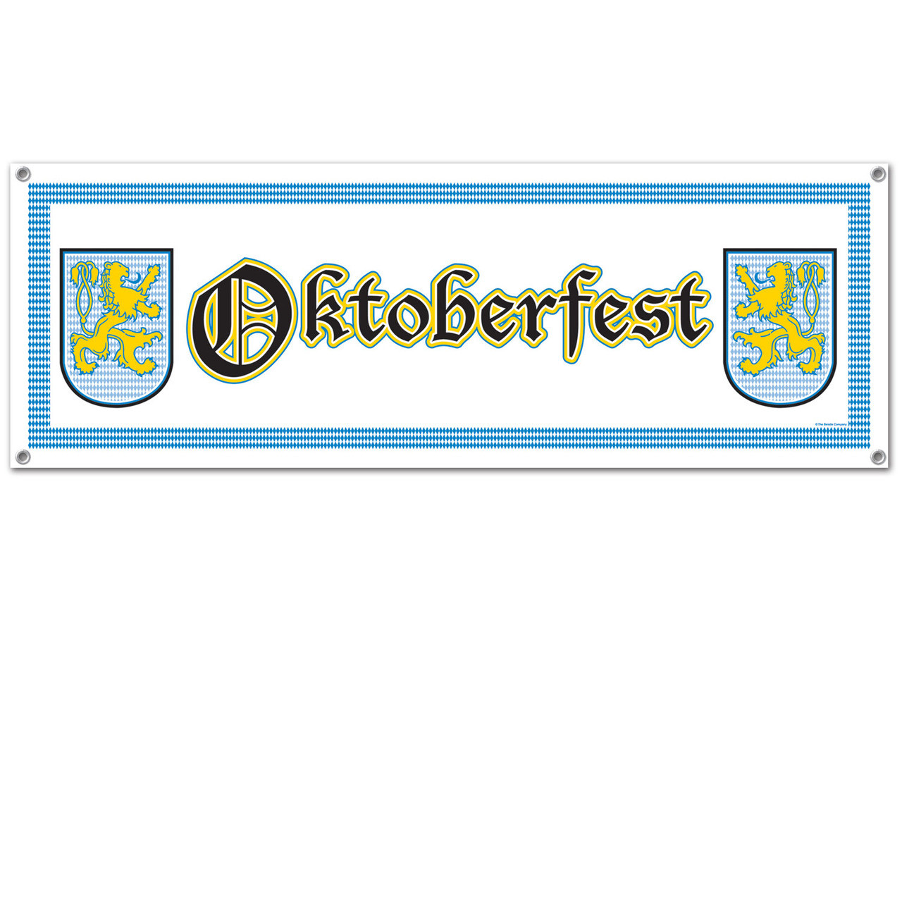 Oktoberfest All Weather Party Banner
