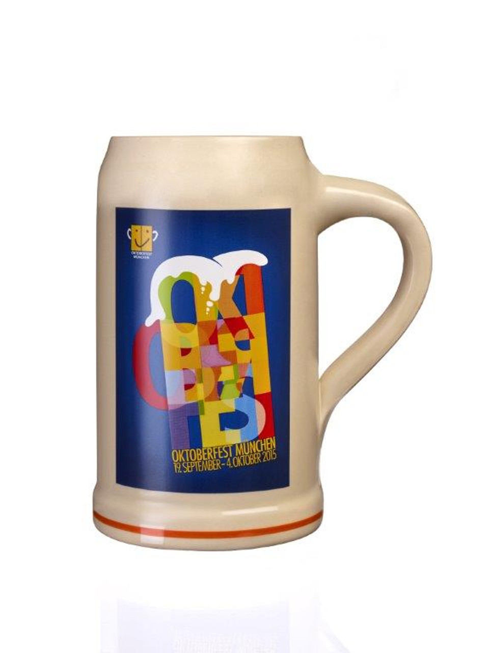 Official 1 Liter Munich Oktoberfest Beer Mug