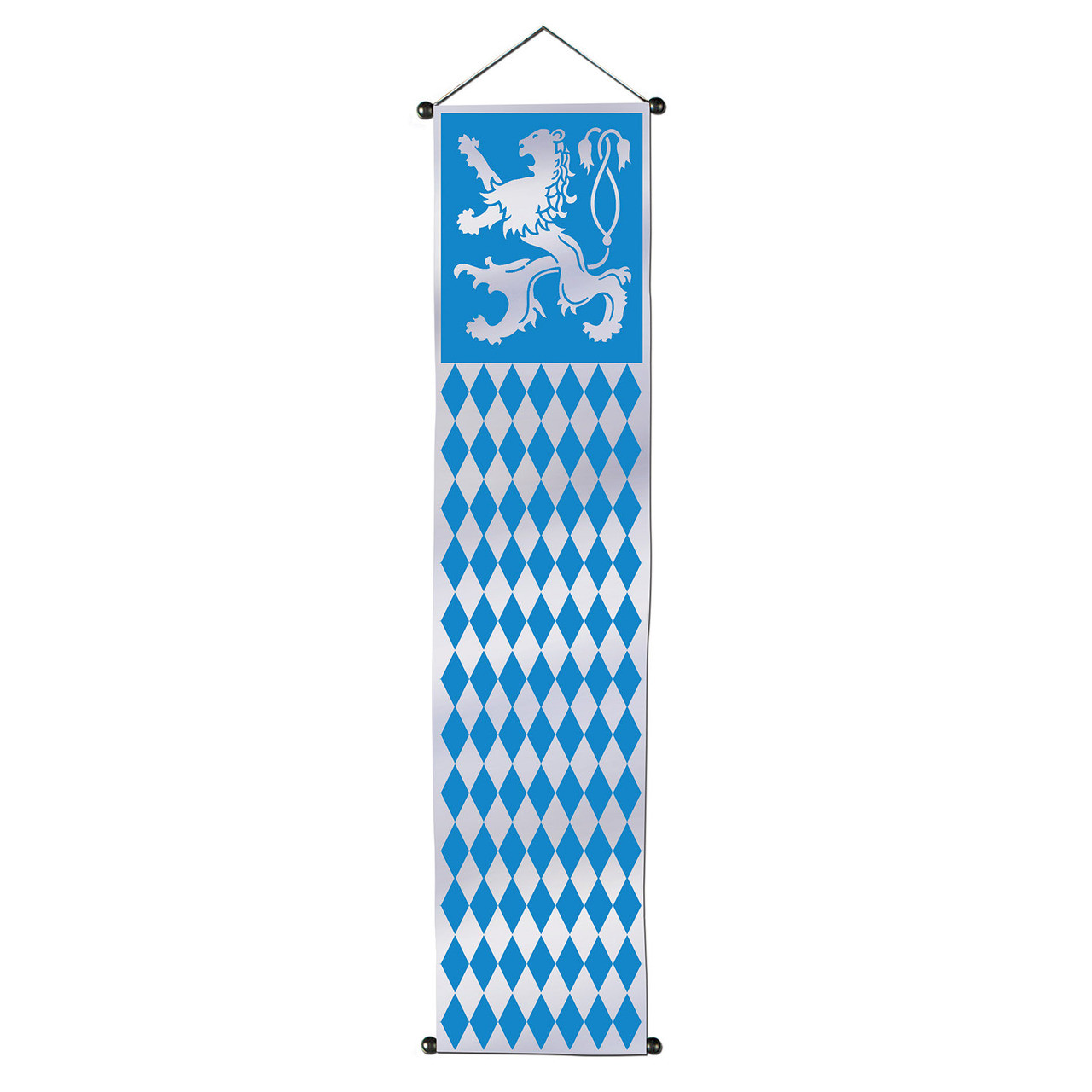 Oktoberfest Velvet-Lame Door Party Banner Decoration