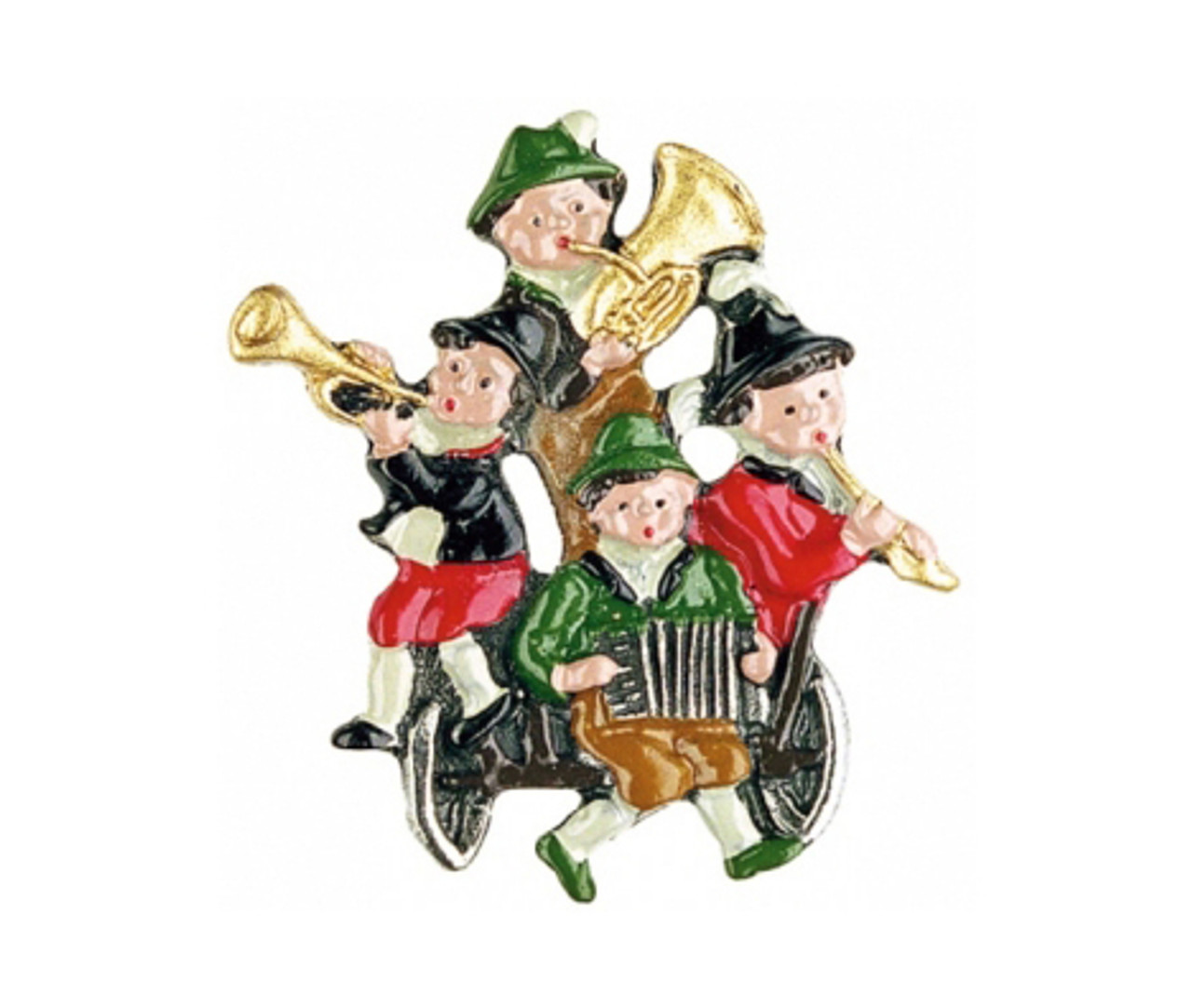 Oompah Band German Pewter Pin