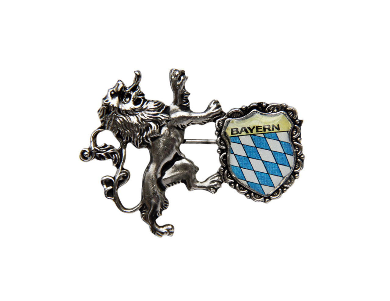 Bayern Bavaria Lion Crest Hat Pin