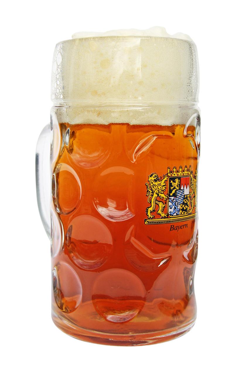 Munich Oktoberfest Beer Mug Bayern Crest