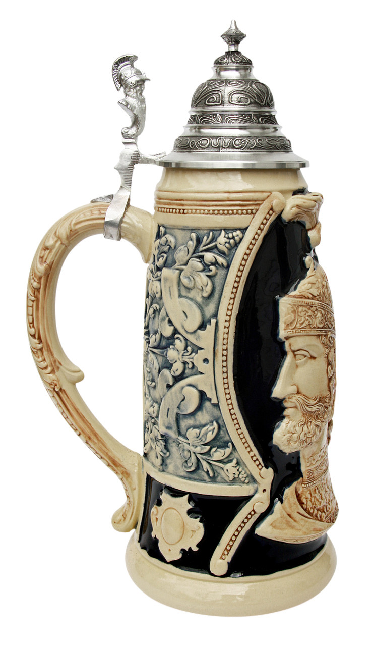 King Limitaet 2003 | Peter Duemler Ares Trojan War Antique Style Beer Stein