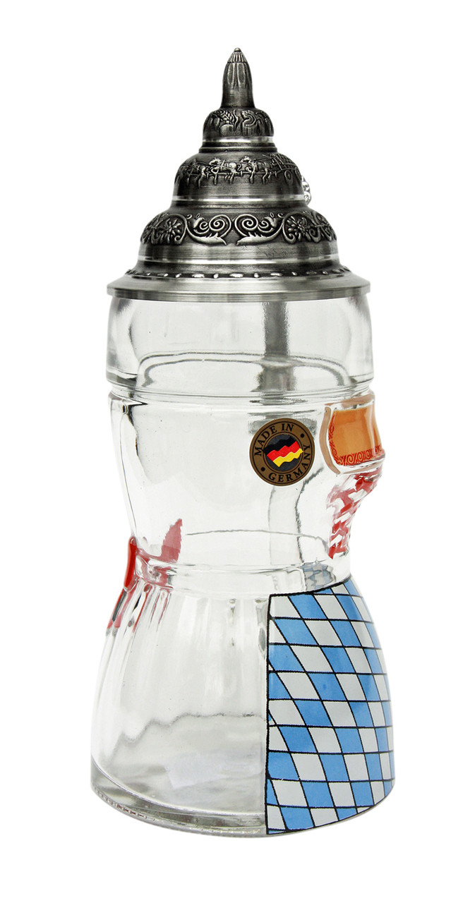 Glass German Beer Stein is a Perfect Gift Idea