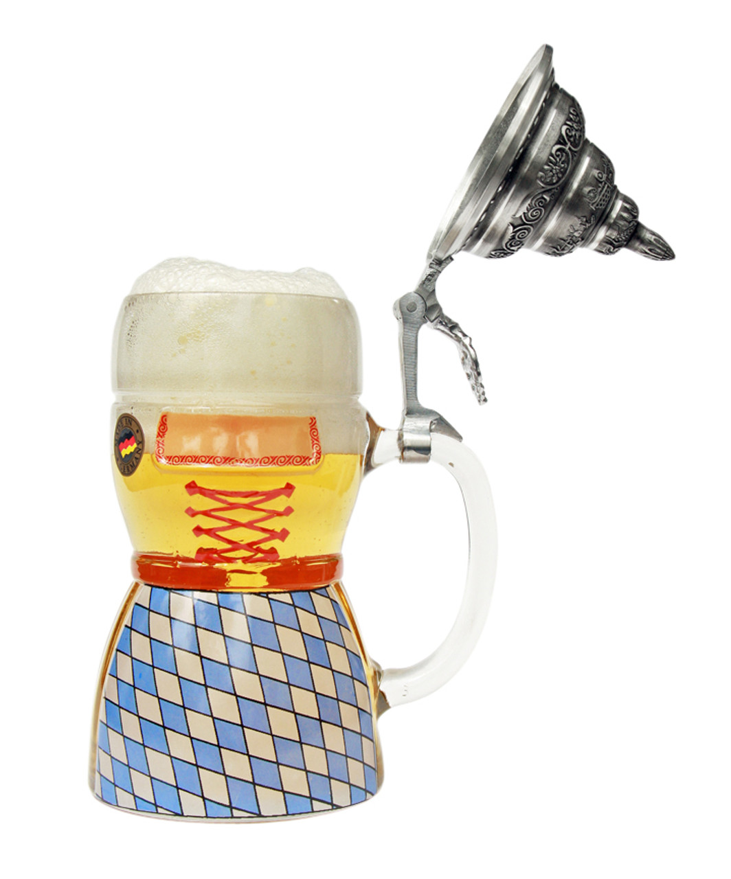 Collectible Beer Stein Full of German Beer