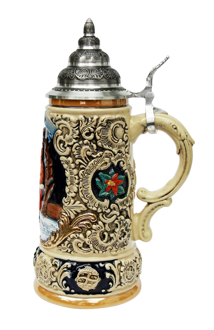 Ceramic Beer Stein Makes for Perfect Christmas Gift