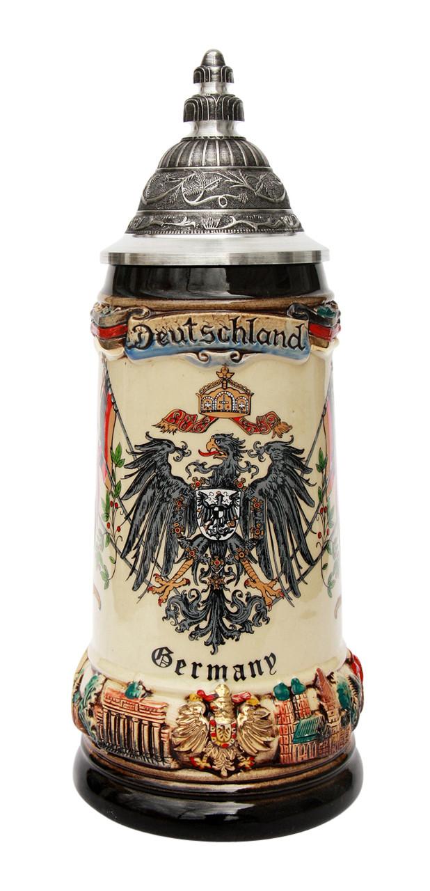 Germany Coat of Arms Deutschland Beer Stein