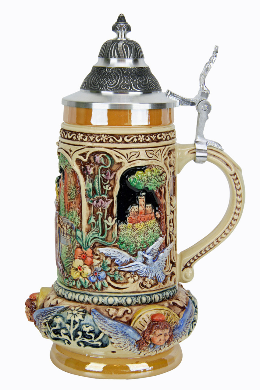 Wedding Beer Stein for German Wedding Gift