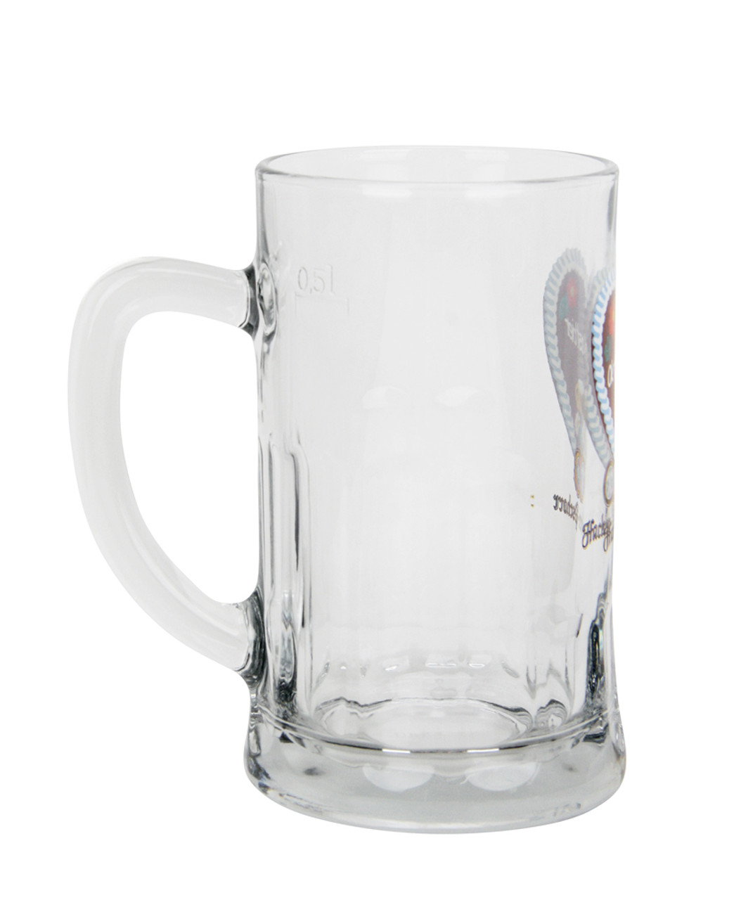 Oktoberfest Glass Beer Mug