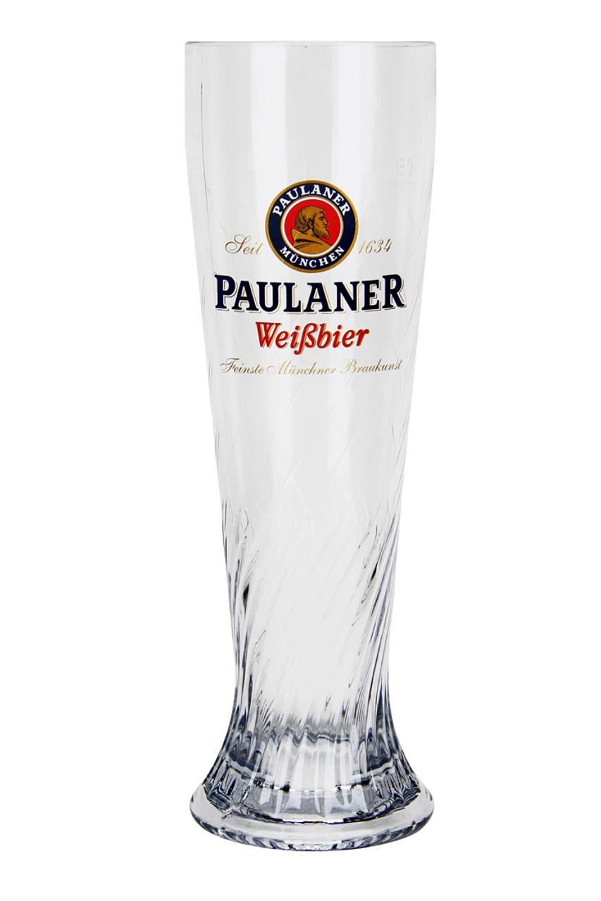 Paulaner German Wheat Beer Glass 0.5 Liter