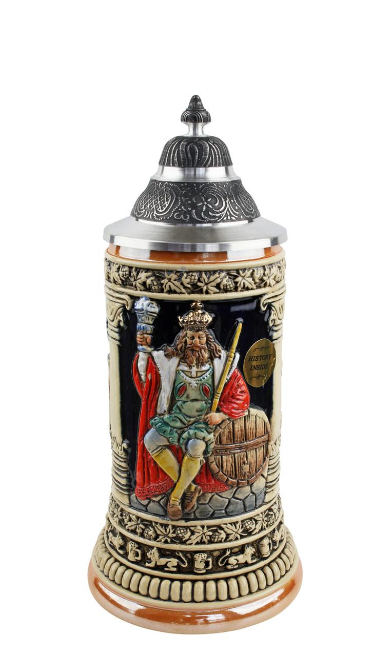 .3 Liter Hand Painted German Beer Stein