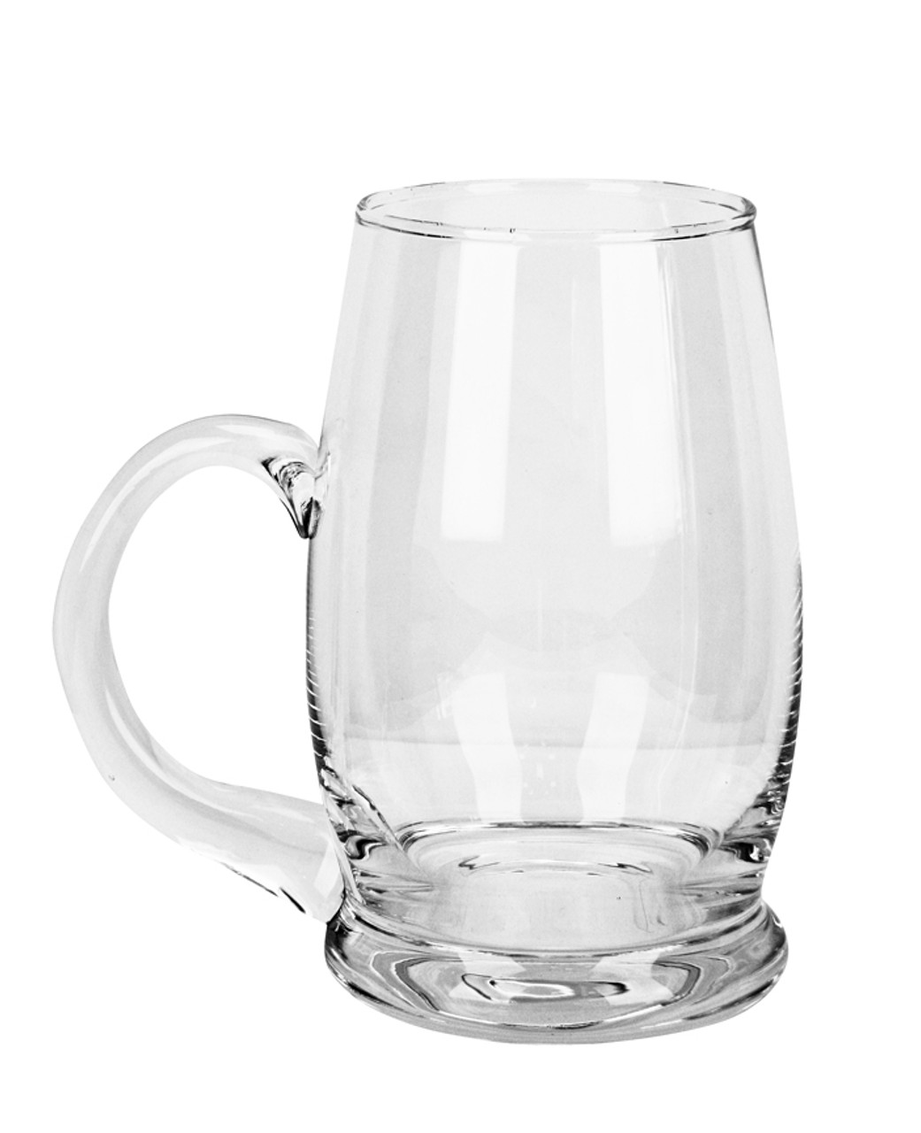 Left Side View of Authentic 0.5 Liter Riva Beer Mug