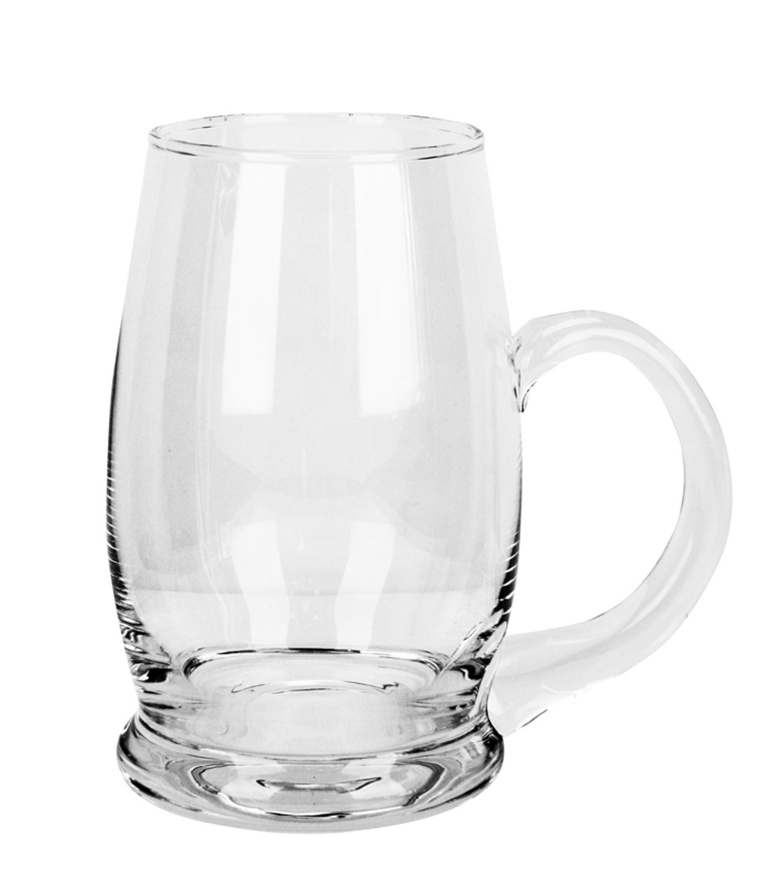 Right Side View of Authentic 0.5 Liter Riva Beer Mug
