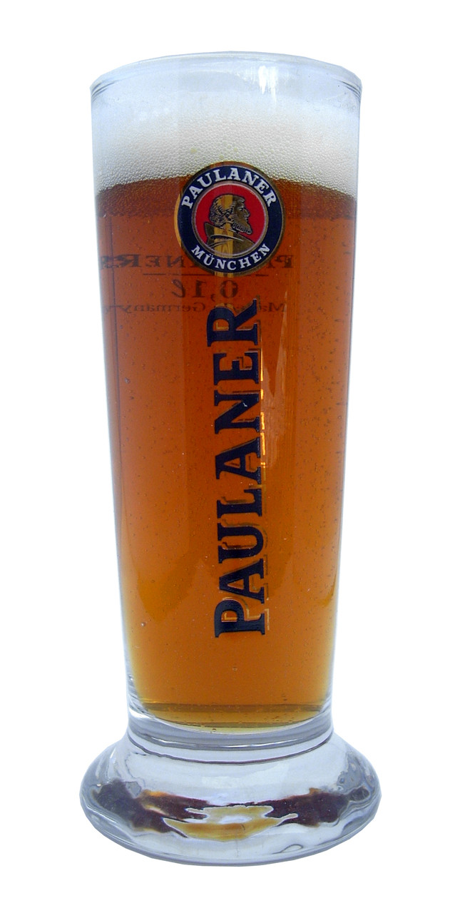 Includes a set of three Paulaner tasting glasses