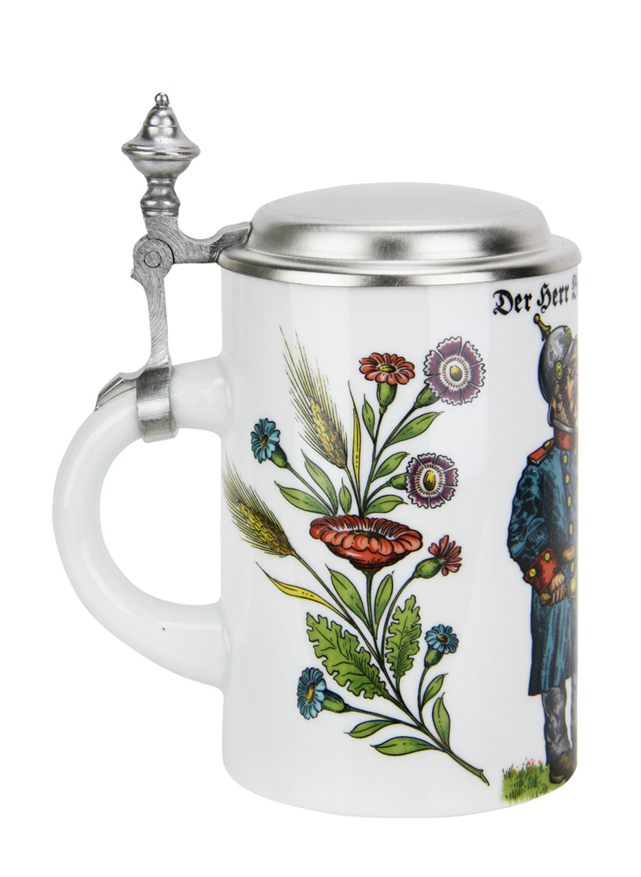 Commemorative Reinheitsgebot German porcelain beer stein
