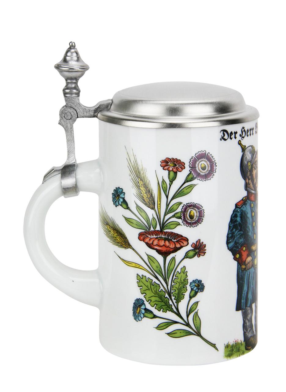 Commemorative Reinheitsgebot German porcelain beer stein