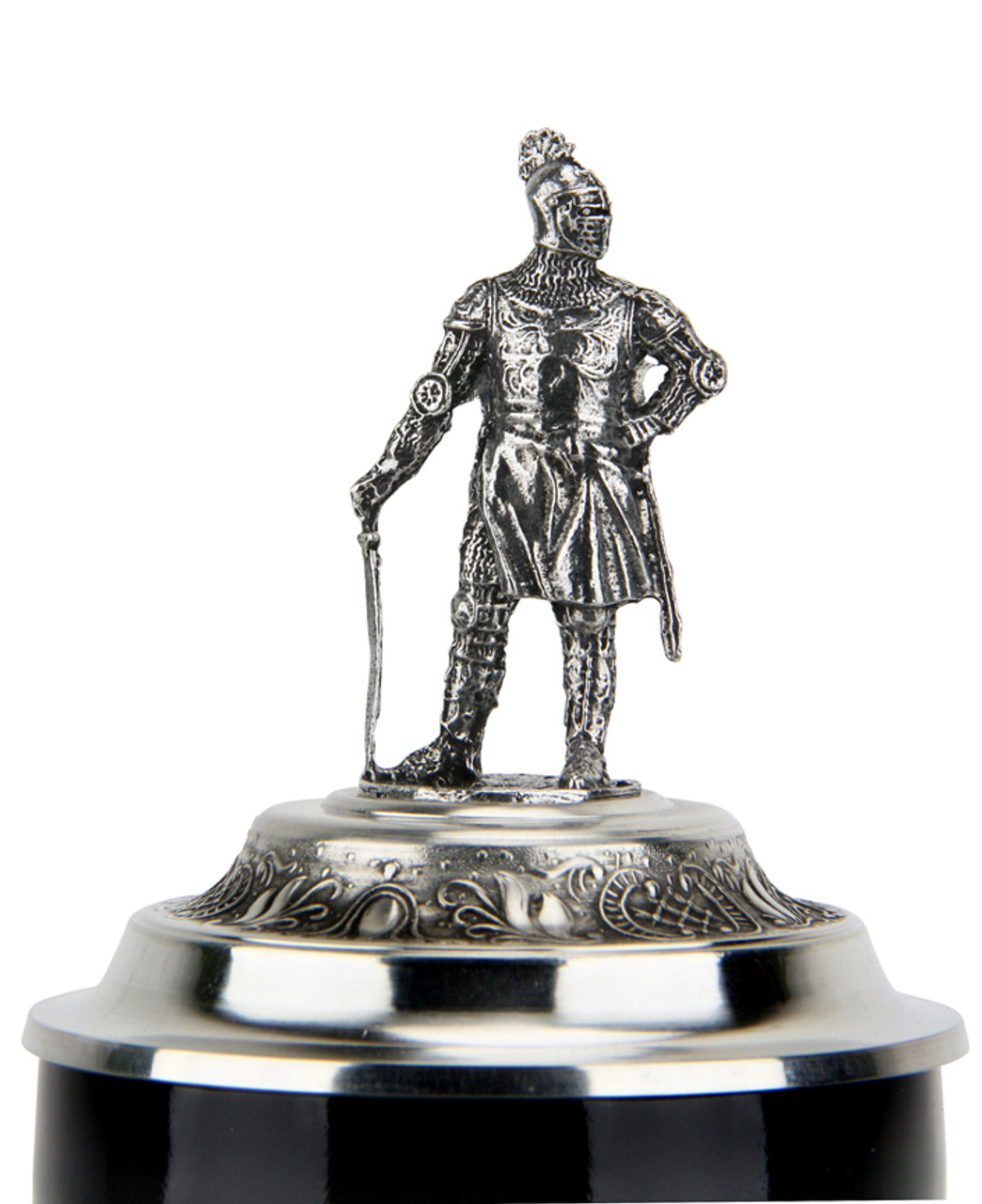 Medieval Tournament Beer Stein | Knight Lid