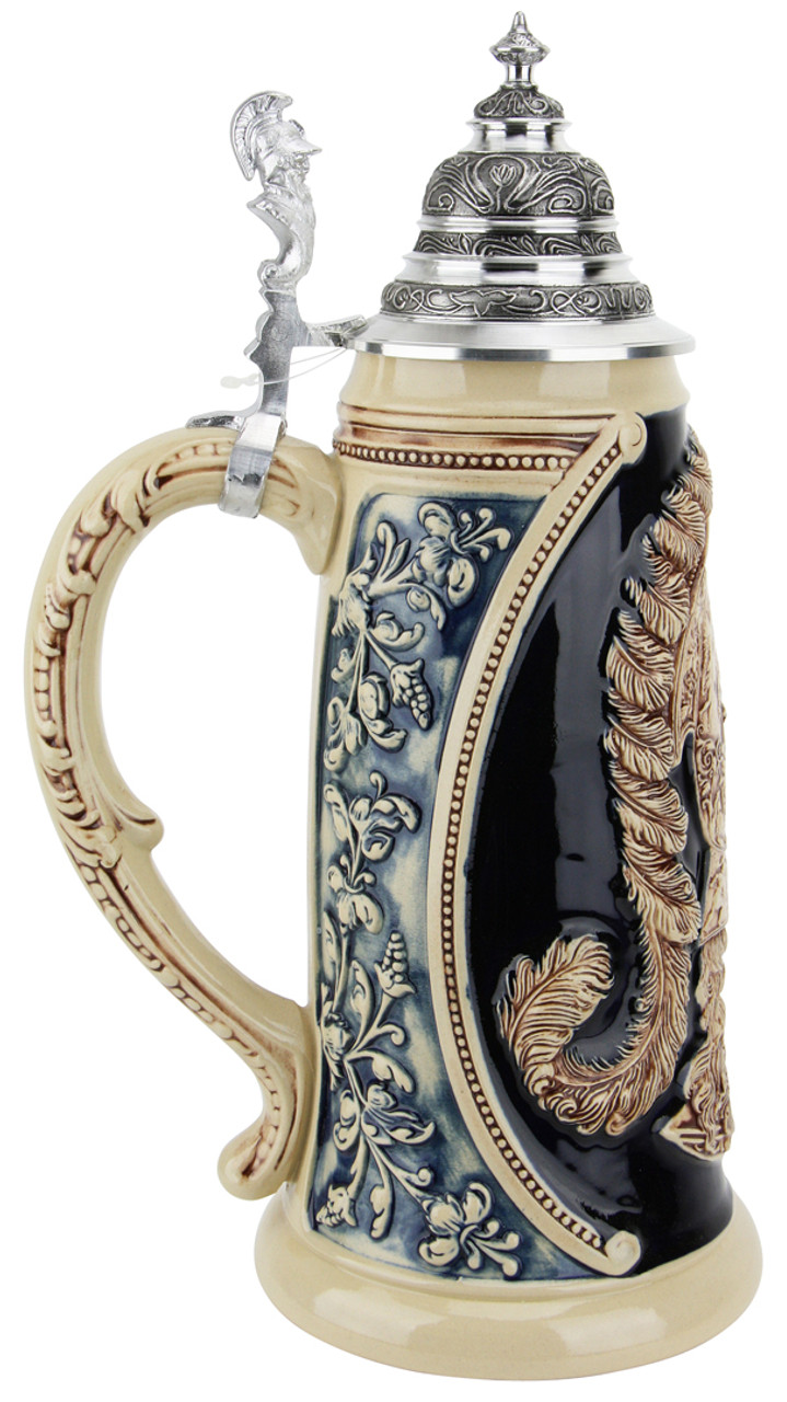 King Limitaet 2009 | Peter Duemler Minerva Antique Style Beer Stein