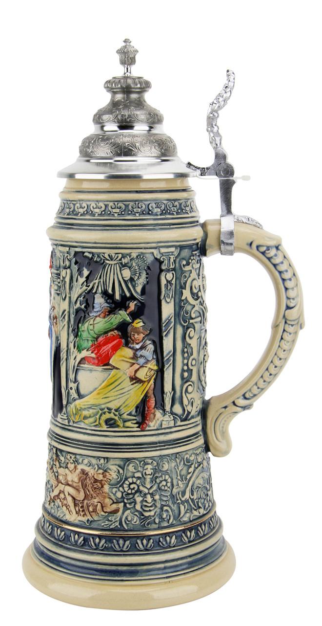 King Limitaet 2007 | Medieval Master Craftsman Handpainted Beer Stein