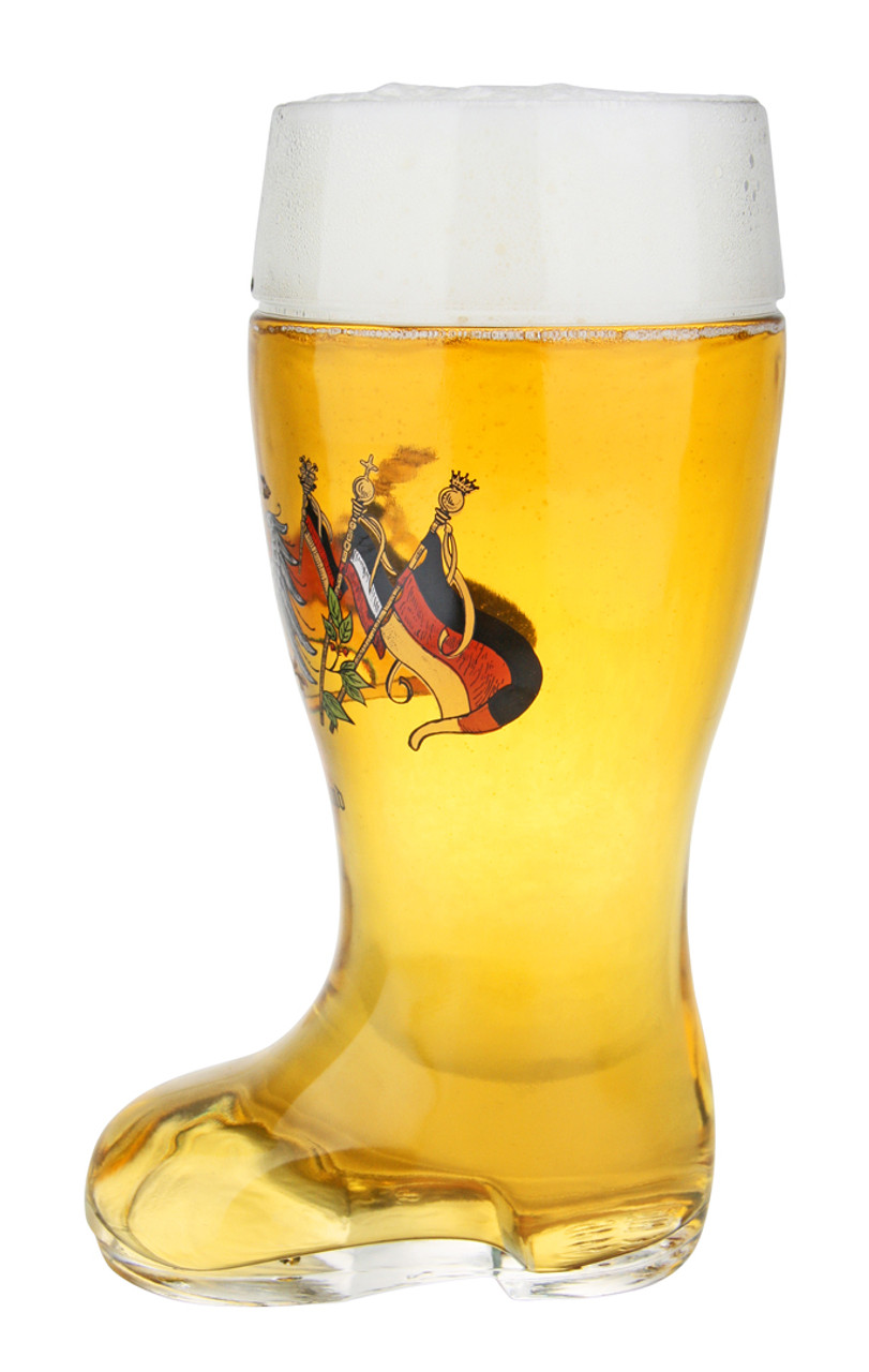 Traditional Deutschland Personalized Beer Boot Mug