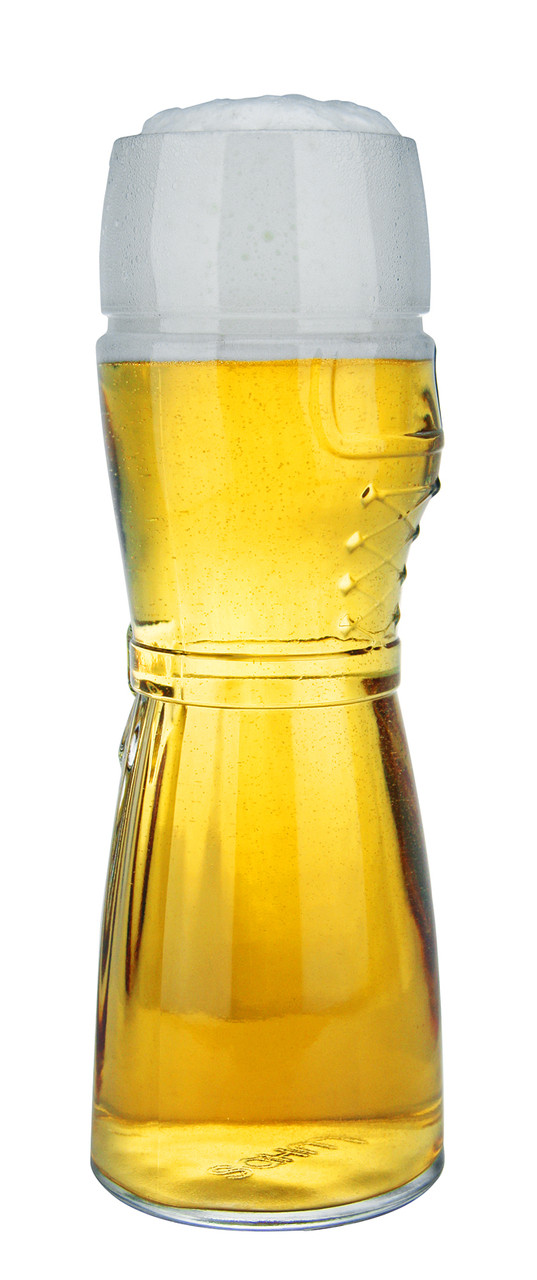 German Wheat Beer Glass for Sale 0.5 Liter