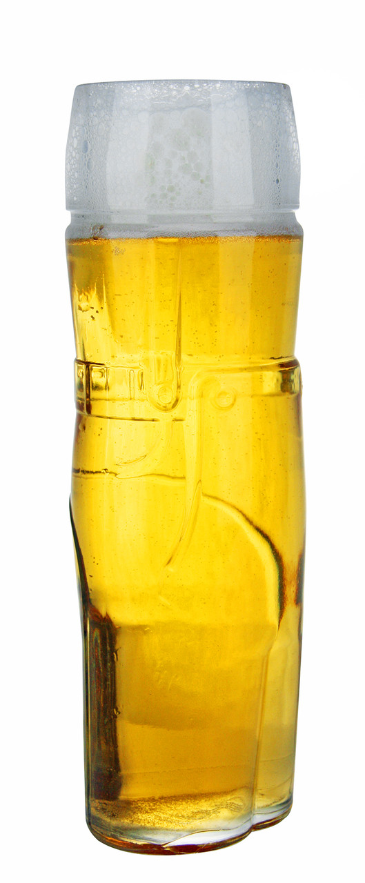 Traditional German Glass for Wheat Beers