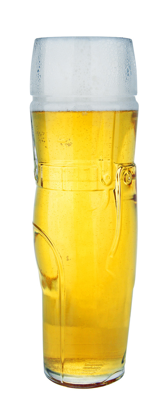 Beer Glass for Discerning Wheat Beer Enthusiasts