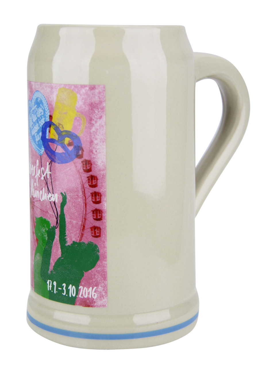 Official Oktoberfest 2016 Ceramic Beer Mug