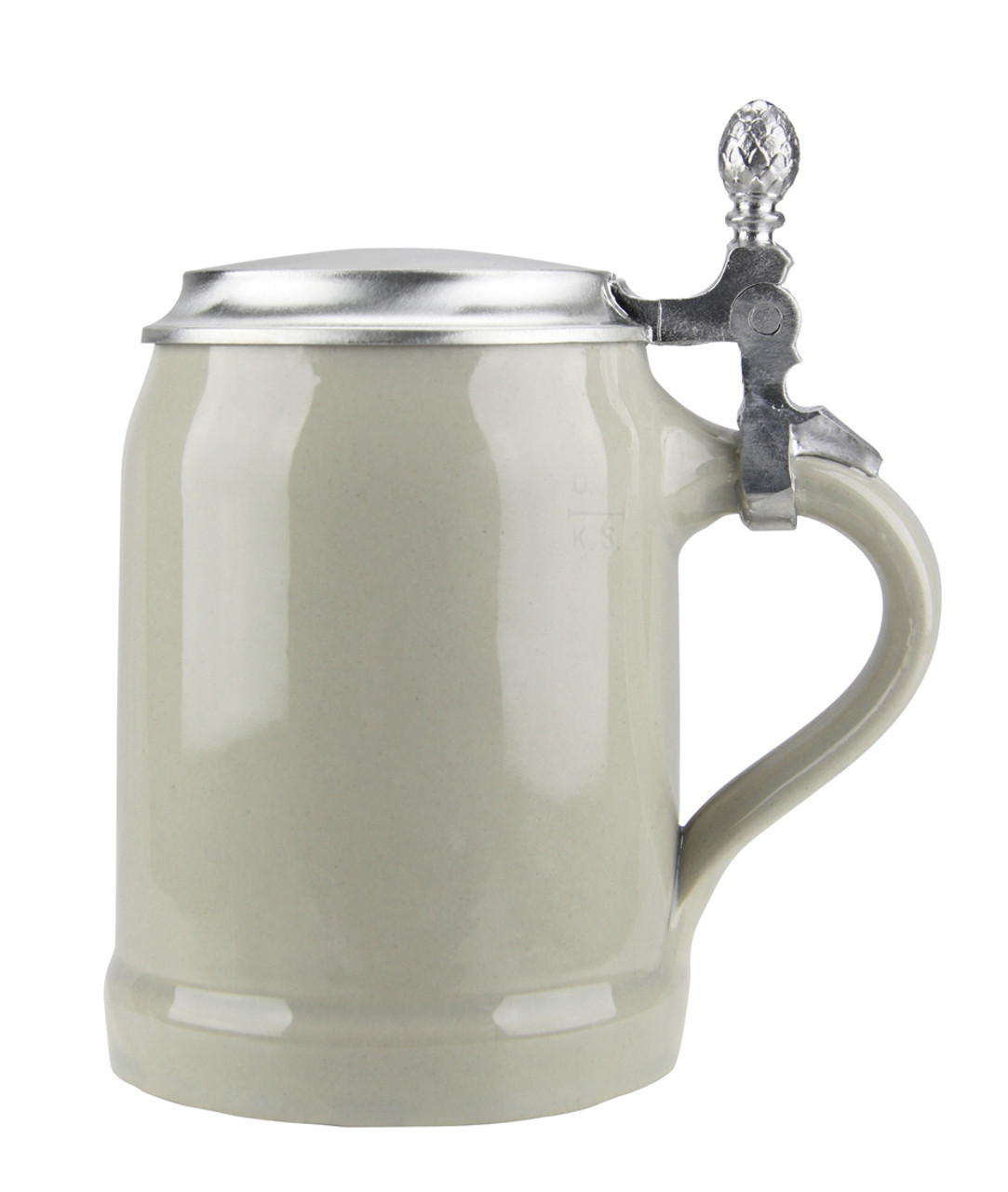 This ceramic beer stein will fill your friends with envy and your enemies with reluctant respect